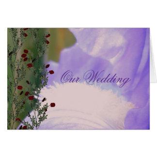 夏の夢の結婚式 カード