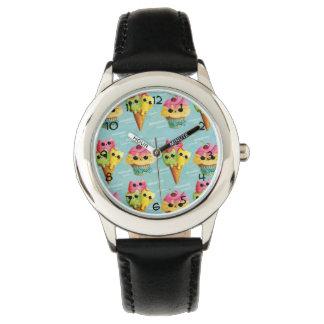 夏の子猫猫の狂気 腕時計