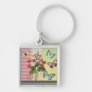 夏の庭ピンクの… keychain キーホルダー