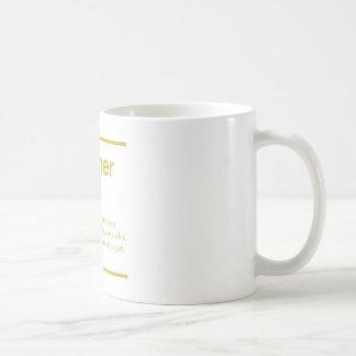 夏の感動的なタイポグラフィのデザイン コーヒーマグカップ