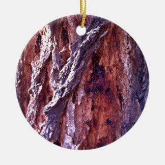 夏の成長したレッドウッドのゴムの木の吠え声 セラミックオーナメント