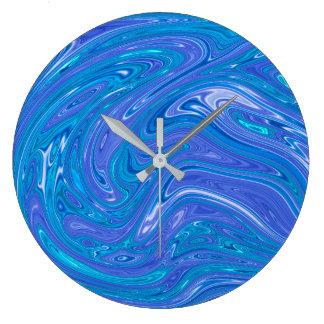 夏の抽象芸術-柱時計 ラージ壁時計