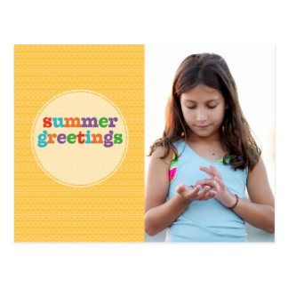 夏の挨拶の日光 ポストカード