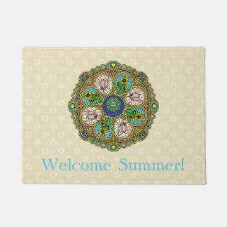 夏の新しいの玄関マット ドアマット