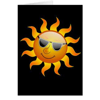 夏の日曜日のおもしろカード カード