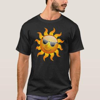 夏の日曜日のおもしろTシャツ Tシャツ