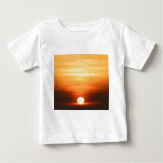 夏の日没 ベビーTシャツ