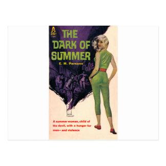 夏の暗闇 ポストカード