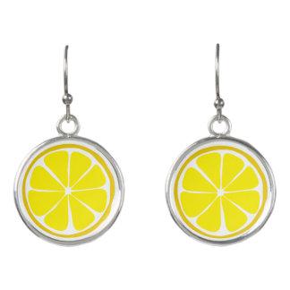 夏の柑橘類レモンイヤリング イヤリング