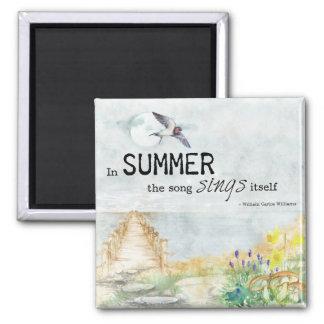 夏の歌2インチの磁石 マグネット