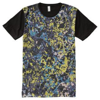 夏の眩惑(抽象美術のデザイン)の~ オールオーバープリントT シャツ