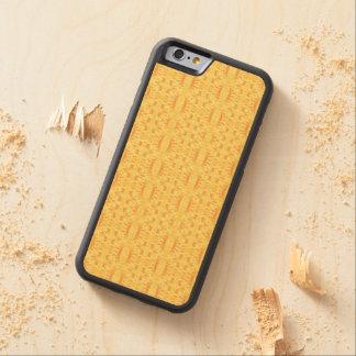 夏の眩惑-電話(木)箱(02) CarvedメープルiPhone 6バンパーケース
