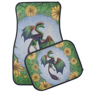 夏の自然のファンタジーの芸術のドラゴン カーマット