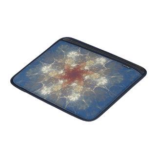 夏の花のフラクタルのMacbookの空気かiPadの袖 MacBook スリーブ