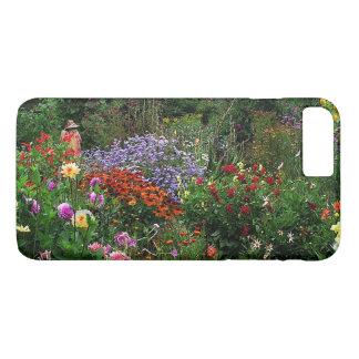 夏の花園のiPhone 7のプラスの場合 iPhone 8 Plus/7 Plusケース