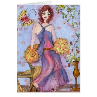 夏の花型女性歌手 カード