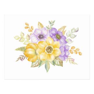 夏の花束 ポストカード