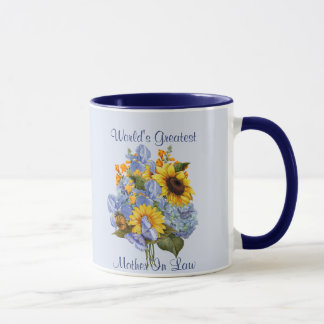 夏の花束-義母 マグカップ