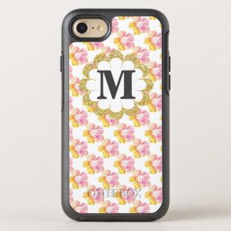 夏の花柄 オッターボックスシンメトリーiPhone 7 ケース
