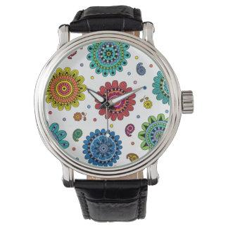 夏の花 腕時計