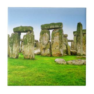 夏の芸術のStonehengeの古代永続的な石 タイル