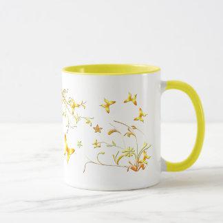 夏の蝶 マグカップ