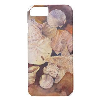 夏の貝殻の電話カバー iPhone 8/7ケース