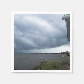夏の雨雲 スタンダードカクテルナプキン
