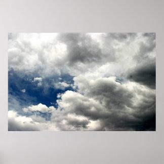 夏の雨雲、ネバダ ポスター