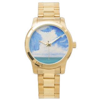 夏の雲 腕時計