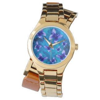 夏の青い蝶、 腕時計