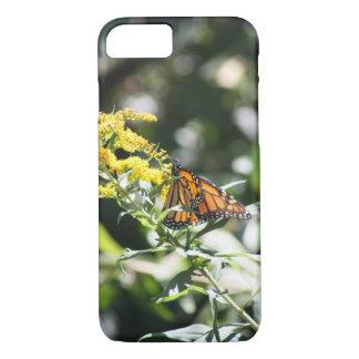 夏の(昆虫)オオカバマダラ、モナーク iPhone 8/7ケース