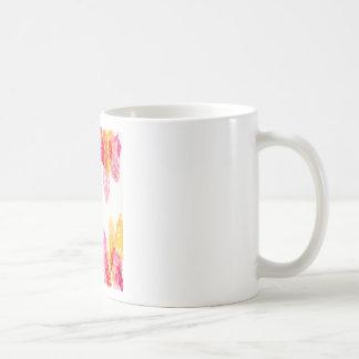 夏はピンク-花のSnapdragons -オレンジ咲きます コーヒーマグカップ