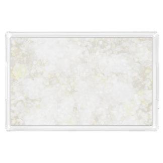 夏らしで白い妖精の塵 アクリルトレー