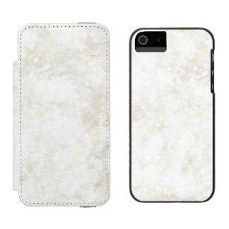 夏らしで白い妖精の塵 INCIPIO WATSON™ iPhone 5 財布 ケース