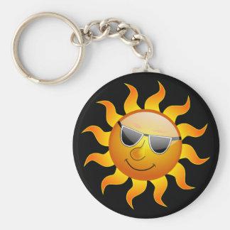 夏日曜日おもしろいなKeychain キーホルダー