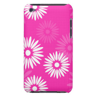 夏期のピンクの花のipod touchの穹窖 Case-Mate iPod touch ケース