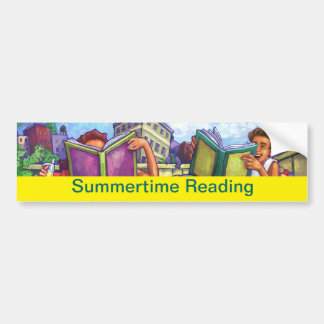 夏期の読書 バンパーステッカー
