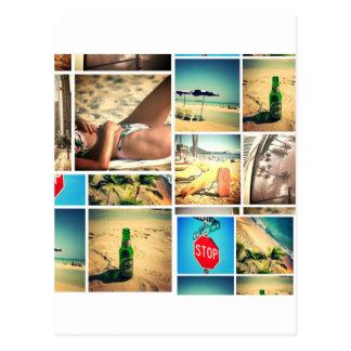 夏期休暇 ポストカード