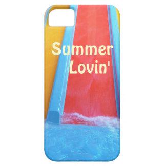 夏水スライド iPhone SE/5/5s ケース