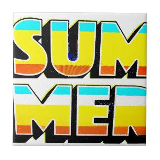 夏熱 タイル