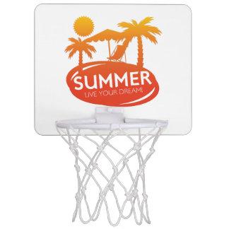 夏-あなたの夢は住んでいます ミニバスケットボールゴール