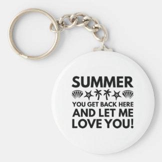 夏 キーホルダー