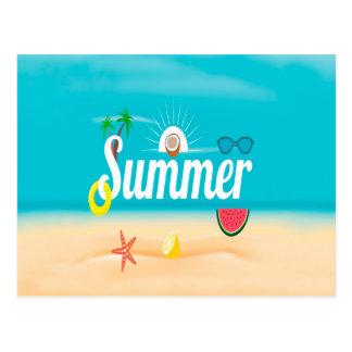 夏 ポストカード