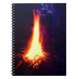 夕べのキャンプファイヤー ノートブック