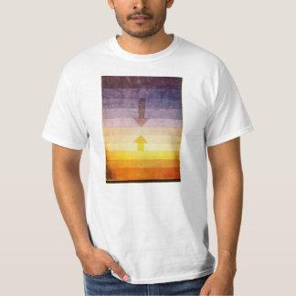 夕べのTシャツのパウル・クレーの分離 Tシャツ