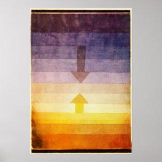 夕べポスターのパウル・クレーの分離 ポスター