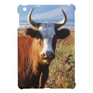 夕方日曜日かわいらしい西部牛角 iPad MINI カバー