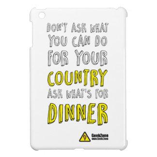 夕食のため何がですか。 GeekZone著 iPad Miniケース