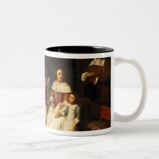 夕食のフランダース家族 ツートーンマグカップ